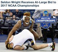 NCAA Division I wrestler successful knee surgery Rudzki