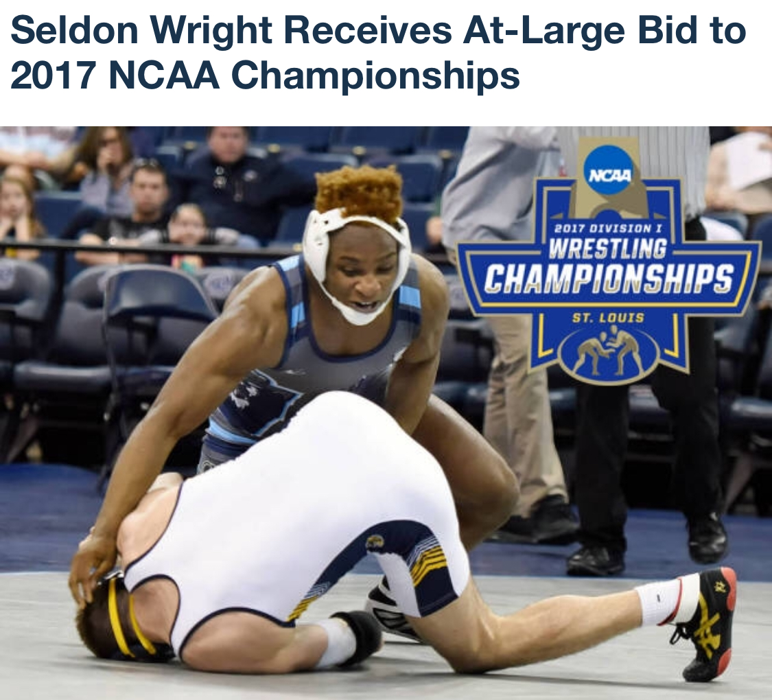 NCAA Division I wrestler successful knee surgery Rudzki