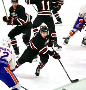 Elite Ice Hockey Player with successful arthroscopic stabilization for shoulder instability